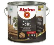 Alpina. Водоразбавляемый лак для Мебели