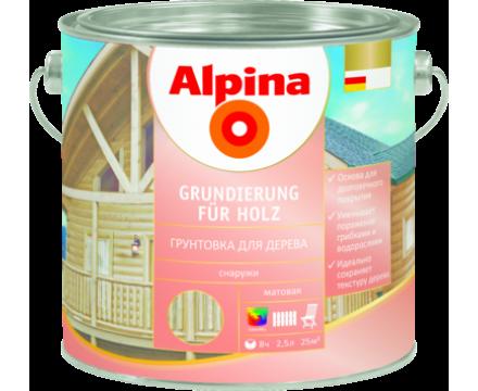 Alpina. Grundierung für Holz