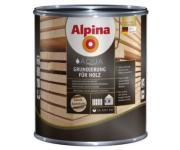 Alpina. Грунтовка на водной основе для деревянных поверхностей