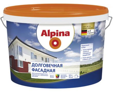 Alpina. Долговечная для деревянных фасадов