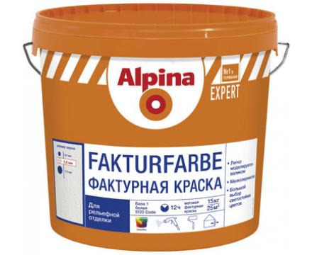 Alpina. EXPERT Fakturfarbe