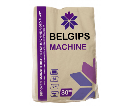 Belgips. Machine