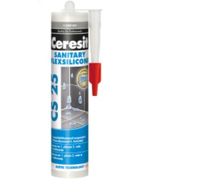 CS 25. Санитарный силиконовый герметик
