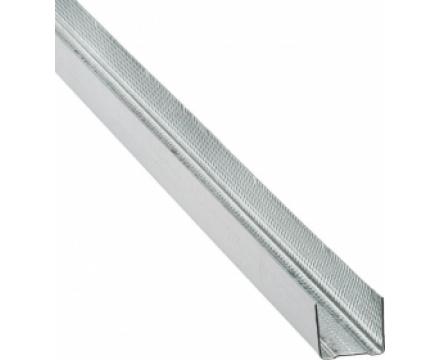 Профиль БЕЛГИПС потолочный направляющий 28х27 толщ. 0,6мм.