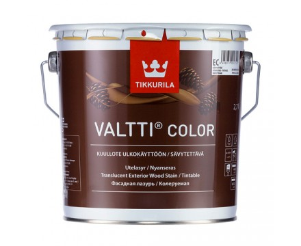Tikkurila - Валтти Колор фасадная лазурь на масляной основе